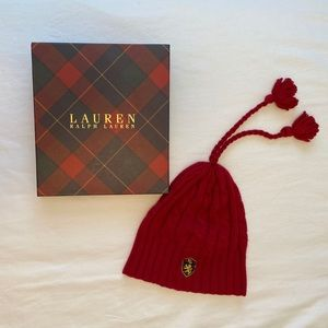 Red Ralph Lauren Hat / Toque